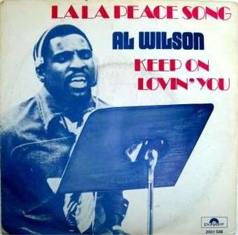 Coverafbeelding Al Wilson - La La Peace Song