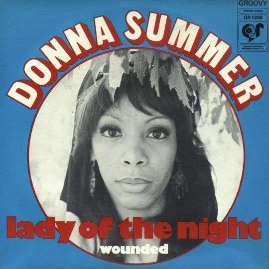 Coverafbeelding Lady Of The Night - Donna Summer