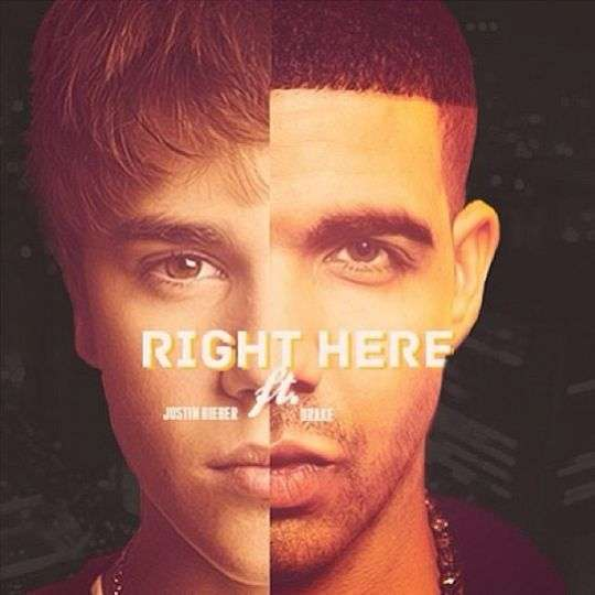 Coverafbeelding Right Here - Justin Bieber Ft. Drake