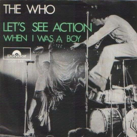 Coverafbeelding Let's See Action - The Who