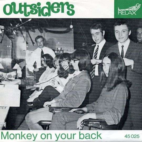 Coverafbeelding Monkey On Your Back - Outsiders