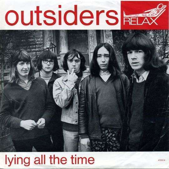 Coverafbeelding Lying All The Time - Outsiders