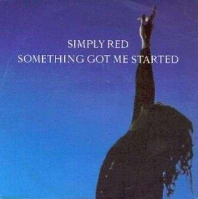 Coverafbeelding Something Got Me Started - Simply Red