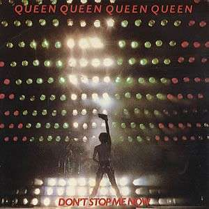 Coverafbeelding Don't Stop Me Now - Queen