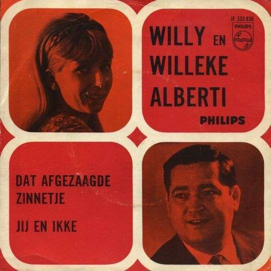Coverafbeelding Somethin' Stupid / Dat Afgezaagde Zinnetje - Nancy & Frank Sinatra / Willy En Willeke Alberti