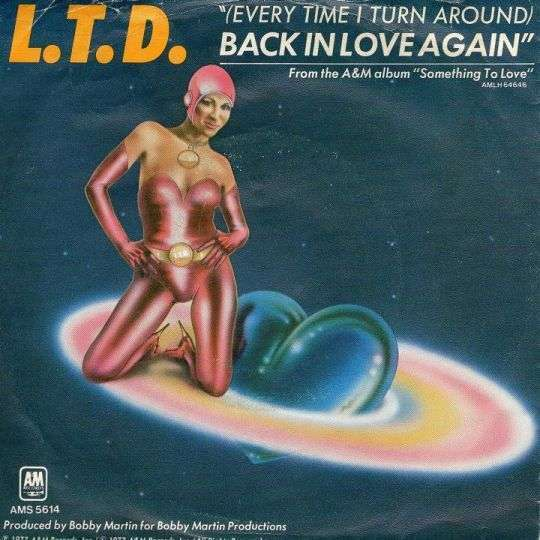Coverafbeelding (Every Time I Turn Around) Back In Love Again - L.t.d.