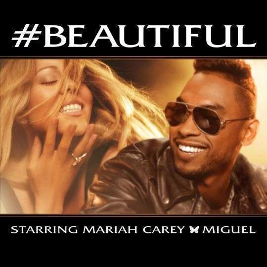 Coverafbeelding #beautiful - Mariah Carey & Miguel