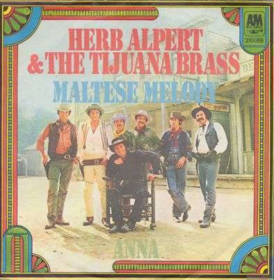 Coverafbeelding Maltese Melody - Herb Alpert & The Tijuana Brass