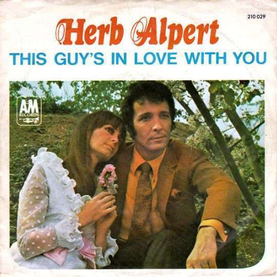 Coverafbeelding This Guy's In Love With You - Herb Alpert
