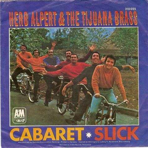 Coverafbeelding Cabaret - Herb Alpert & The Tijuana Brass