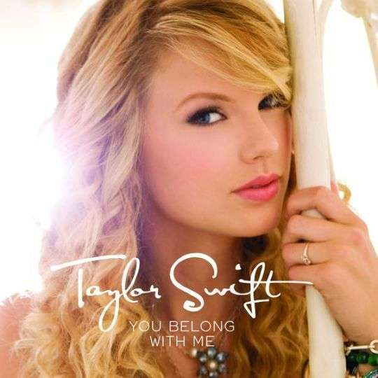 Coverafbeelding You Belong With Me - Taylor Swift