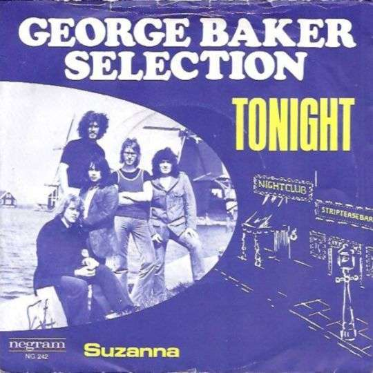Coverafbeelding Tonight - George Baker Selection