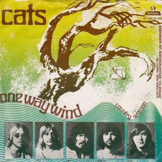 Coverafbeelding One Way Wind - Cats