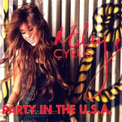 Coverafbeelding Party In The U.s.a. - Miley Cyrus