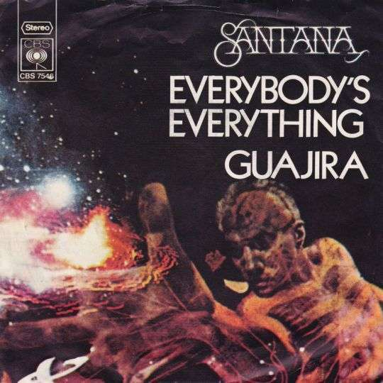 Coverafbeelding Everybody's Everything - Santana