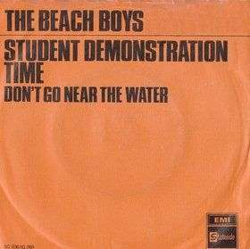 Coverafbeelding Student Demonstration Time - The Beach Boys
