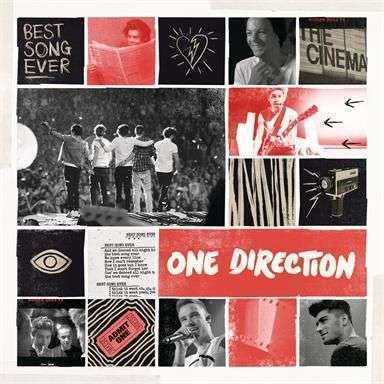 Coverafbeelding one direction - best song ever