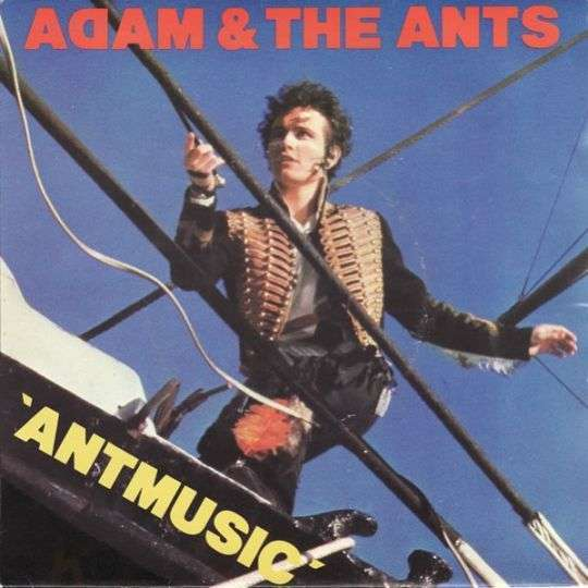 Coverafbeelding Antmusic - Adam & The Ants