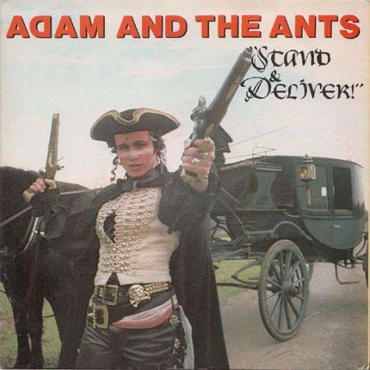 Coverafbeelding Adam and The Ants - Stand & Deliver!