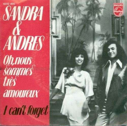 Coverafbeelding Oh, Nous Sommes Très Amoureux - Sandra & Andres