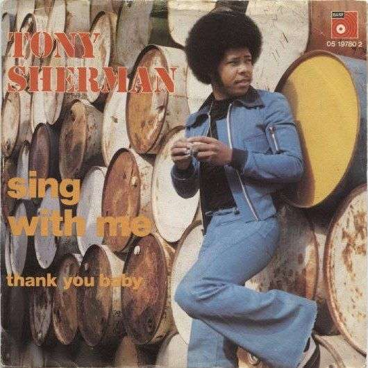 Coverafbeelding Sing With Me - Tony Sherman