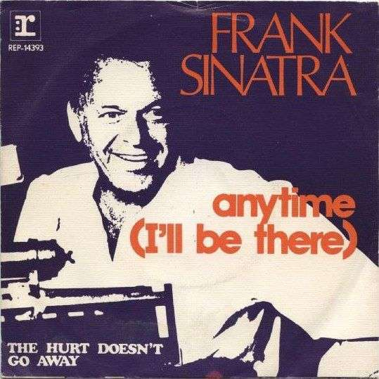Coverafbeelding Anytime (I'll Be There) - Frank Sinatra