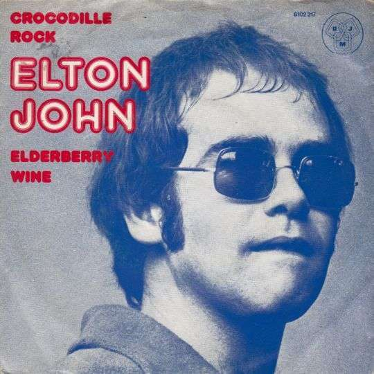 Coverafbeelding Crocodile Rock - Elton John