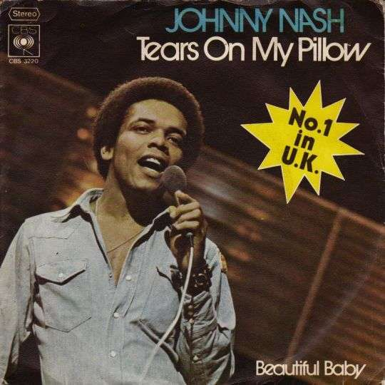 Coverafbeelding Tears On My Pillow - Johnny Nash
