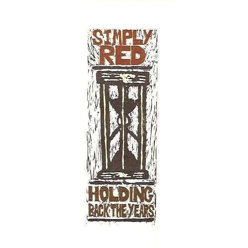 Coverafbeelding Holding Back The Years - Simply Red