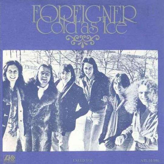 Coverafbeelding Foreigner - Cold As Ice