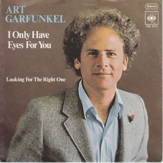 Coverafbeelding Art Garfunkel - I Only Have Eyes For You