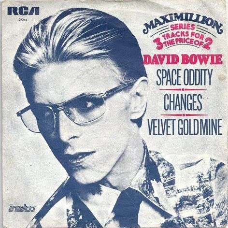 Coverafbeelding Space Oddity - David Bowie