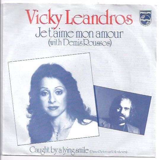 Coverafbeelding Je T'aime Mon Amour - Vicky Leandros (With Demis Roussos)