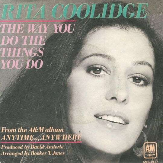 Coverafbeelding The Way You Do The Things You Do - Rita Coolidge
