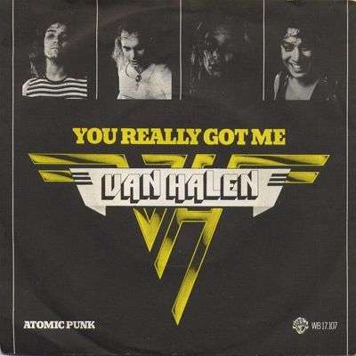Coverafbeelding You Really Got Me - Van Halen