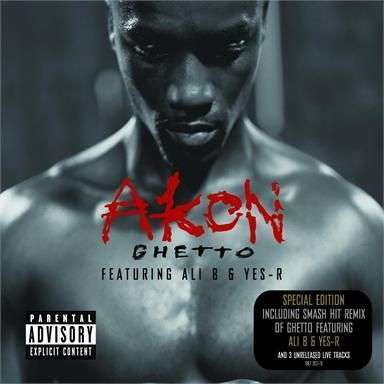 Coverafbeelding Ghetto - Akon Featuring Ali B & Yes-R