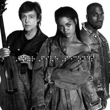 Coverafbeelding Rihanna and Kanye West and Paul McCartney - FourFiveSeconds